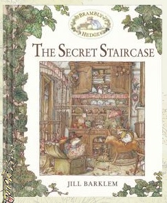 Book cover for The Secret Staircase by Jill Barklem.