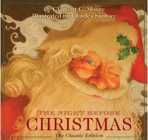 Cover of Charles Santore's 2011 The Night Before Christmas.