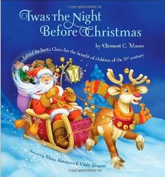 """Cover of Patricia McColl's smoke-free 'Twas the Night Before Christmas, which she is marketing as having been """"edited by Santa for the benefit of children of the 21st century."""""""