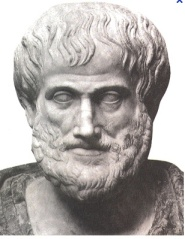 Aristotle. Even smarter than he looked.