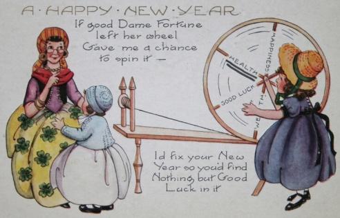 Vintage Victorian postcard (Image via Squidoo).
