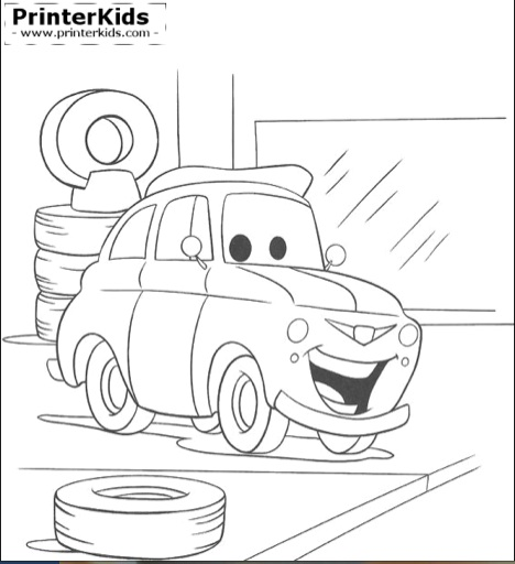Just one of many coloring pages you'll find at PrinterKids.com. (Image: PrinterKids.com)