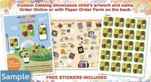This custom catalog is simply brilliant. (Photo: Square1Art)