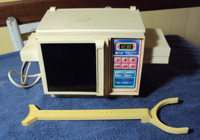 Vintage Easy Bake Oven from 1983 sold (not to us) last September on Etsy.