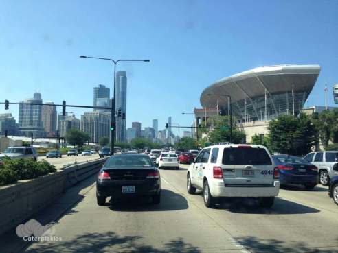 Oh look, we found the traffic. Again. This time on Lake Shore Drive. Is nowhere sacred? (Photo: Shala Howell)