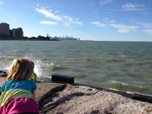 Gratuitous view of Chicago by the sea. (Photo: Shala Howell)