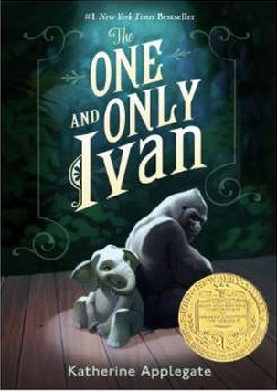 The Eight-Year-Old just finished reading The One and Only Ivan by Katherine Applegate. She loved it.