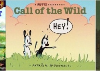 This week's book covers: Pioneer Cat, Mutts: Call of the Wild, and Sherlock Holmes.