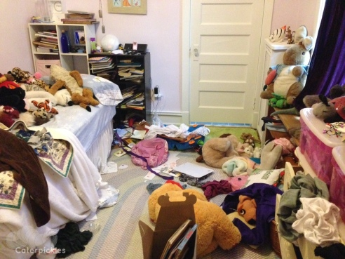The Eight-Year-Old's room in its native state. (Photo: Shala Howell)
