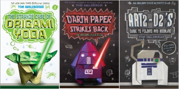 ORIGAMI YODA SERIES: 5 BOOK SET By R.l. Stein for sale online   290x584