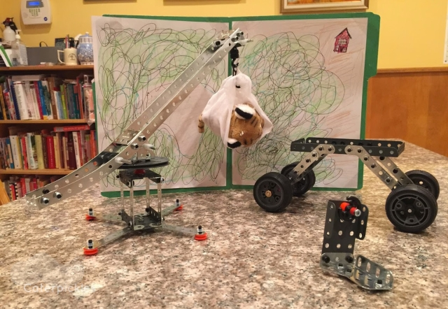 The Eight-Year-Old's soon to be patented Tiger Rescue Kit. (Photo: Michael Howell)