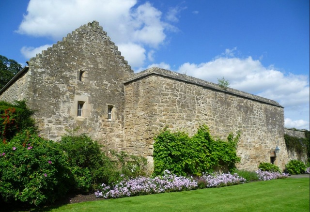 The Real Tennis Court building at Falkland Palace in Fife, Scotland. This building is believed to be the world's oldest tennis court. (Photo: Kim Traynor)
