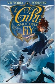 Book cover for The Girl Who Could Fly by Victoria Forester.