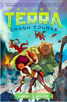 Book cover for Project Terra by Landry Q. Walker.