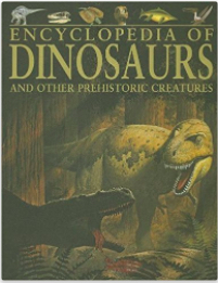 Book cover for Encyclopedia of Dinosaurs and other Prehistoric Creatures