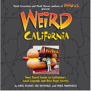 Book cover: Weird California