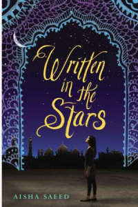 book cover for written in the stars