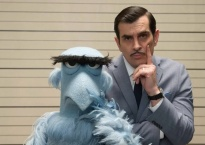 Sam the Eagle and Jean Pierre Napoleon in a still from Muppets Most Wanted. I picked this photo because they have their index fingers against their face like they are thinking hard about something puzzling.